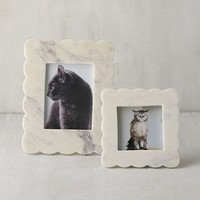 Scalloped Marble Picture Frame - 4x6 | Urban Outfitters