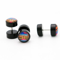 Neon Palm Trees Cheater Fake Plugs BMA