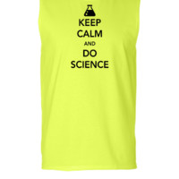 keep calm and do science  - Sleeveless T-shirt