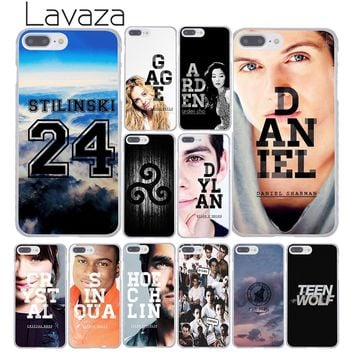 Lavaza TV Series Teen Wolf Team Hard Coque Shell Phone Case for Apple iPhone 8 7 6 6S Plus X 10 5 5S SE 5C 4 4S Cover