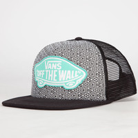 Vans Beach Girl Womens Trucker Hat Black/White One Size For Women 23791712501