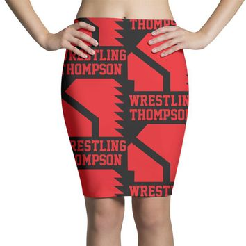 Thompson High School Wrestling (Vision Quest) Pencil Skirts
