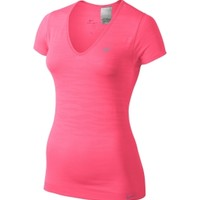 Nike Women's Dri-FIT Knit Short Sleeve Running Shirt - Dick's Sporting Goods