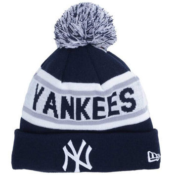 New York Yankees MLB Biggest Fan Pom Knit