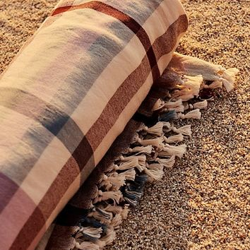 Check Me Out Hand Loomed Beach Towel