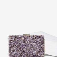Candy Store Rock Amethyst Clutch