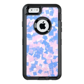 Pink and Blue Confetti OtterBox Defender iPhone Case