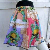 Teenage Mutant Ninja Turtles TuTu Skirt shirt TMNT punk vintage