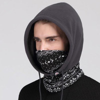 Patented unisex winter Balaclava skull multifunction outdoor warm men's fleece ski mask women hat motorcycle hood scarf mask men