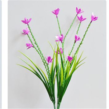 High Quality orchid artificial plant fake flower