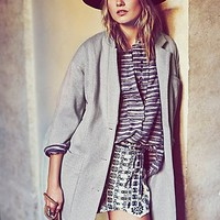 Free People Womens Whole Story Knit Jacket