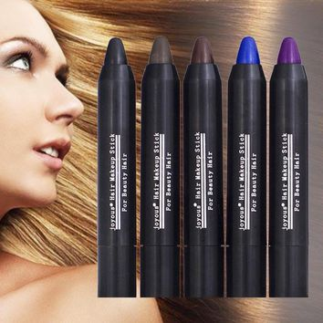Hair Color Crayon Cover Gray Root Hair Instantly Hair Colour Dye Stick Temporary Cover White Hair Non-Toxic L35
