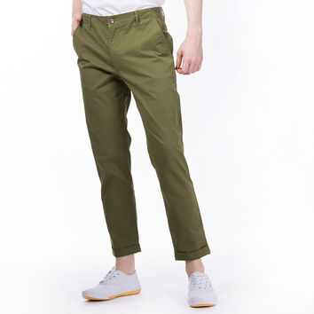 The Essential Chinos in Olive