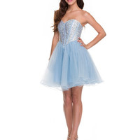 PRIMA Glitz GZ1435 Jeweled Cocktail Dress - Homecoming