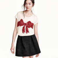 H&M Sequined Top $9.99