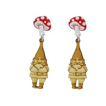 Rollin' with the Gnomies Earrings