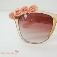 Flowering Happy Love SunGlasses- High fashion accessories