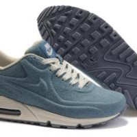 Discount Buy Nike Air Max 90 VT Trainers Light Blue online - Air Max Trainers UK
