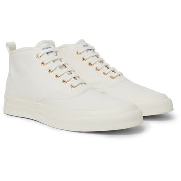 Maison Kitsuné - Canvas High-Top Sneakers