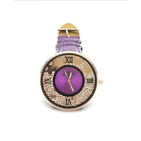 Fashion women Full color Crystal watch