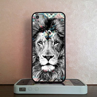 Lion , iPhone 5S case , iPhone 5C case , iPhone 5 case , iPhone 4S case , iPhone 4 case , iPod 4 case , iPod 5 case