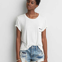 AEO #WeAllCan Graphic T-Shirt, Natural White
