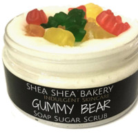 Decorative Soap+Scrub-Gummy Bear