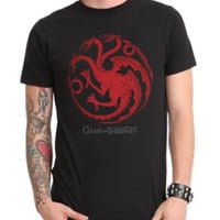Game Of Thrones Targaryen T-Shirt 2XL