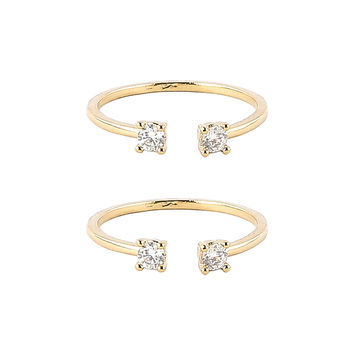 Be My BFF Ring Set