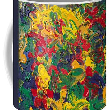 Abstract Painting - Color Explosion - Mug