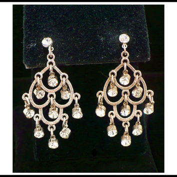 Clear Glass Rhinestones Marquise For Clasps