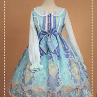 Neverland Lolita (SouffleSong) -Crystal Palace- Lolita OP Dress