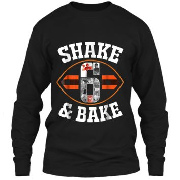 Cleveland Shake & Bake Mayfield  funny  LS Ultra Cotton Tshirt