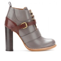 BERNIE LEATHER ANKLE BOOTS