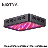 LED grow light 300/600/800/1000/1200/1500/1800/2000W Full Spectrum for Indoor Greenhouse grow tent plants grow led light