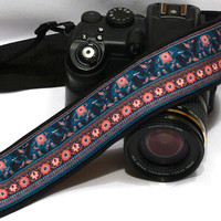 Elephants Camera Strap, dSLR Camera Strap, SLR Camera Strap, Men, Women Accessories