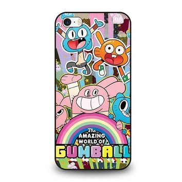 gumball the amazing world iphone se case cover  number 1