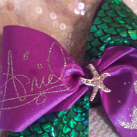 The Ariel Cheer Bow