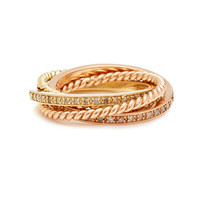 Pave and Twist Rolling Ring | Moda Operandi