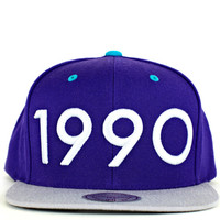 Caps - Snap Back - Mitchell And Ness 1990 Grape - Purple - DTLR - Down Town Locker Room. Your Fashion, Your Lifestyle! Shop Sneakers, Boots, Basketball shoes and more from Nike, Jordan, Timberland and New Balance