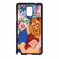 Beauty And The Beast Floral Vintage Samsung Galaxy Note 4 Case