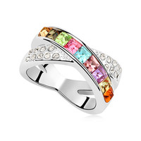 Stylish Jewelry Shiny New Arrival Gift Vintage Accessory Hot Sale Crystal Ring [4989615172]
