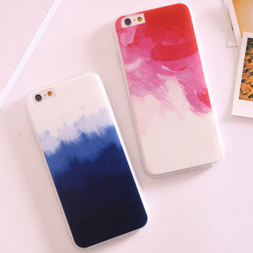 Unique Gradient iPhone 6 6s Plus creative case Gift-90