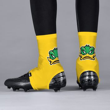 e0b76403f7f Mad Duck Yellow Spats   Cleat Covers