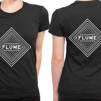 Flume Infinity Prism 2 Sided Womens T Shirt
