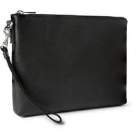 Gucci - Textured-Leather Pouch | MR PORTER