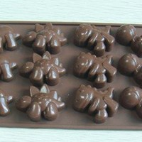 1 X Silicone Dinosaur Chocolate Candy Mold or Ice Tray