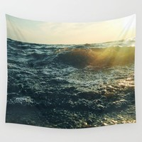 Return To Me Wall Tapestry by Chelsea Victoria