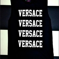 SWEET LORD O'MIGHTY! VERSACE IN BLACK