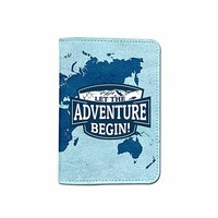 Adventure Passport Holder Customized Passport Covers Passport Wallet_Emerishop (PPLA39)